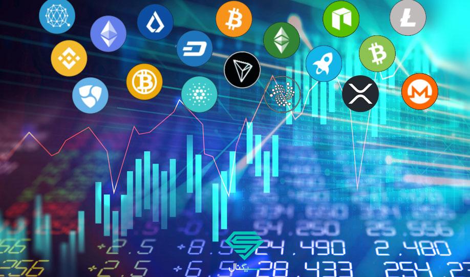 آلتکوین بازار رمزنگاری کریپتوکارنسی بیت کوین اتریوم اتر قیمت